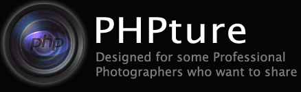 PHPture - Designed for some Professional Photographers who want to share